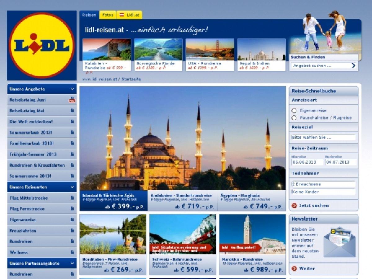 Neu Lidl Reisenat Online Shop österreich